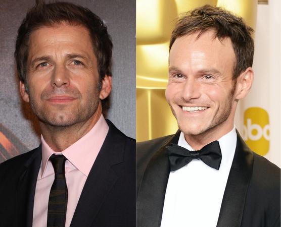 Zack Snyder (a sinistra) e Chris Terrio (a destra)