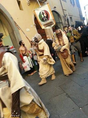 le Legioni in parata a Lucca