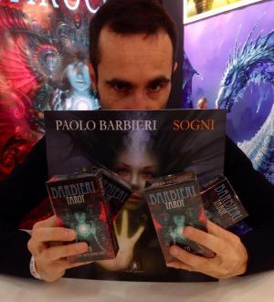 Paolo Barbieri ha presentato a Lucca Comics And Games i suoi ultimi lavori: Sogni e Tarocchi