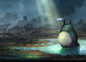 Totoro after the tsunami