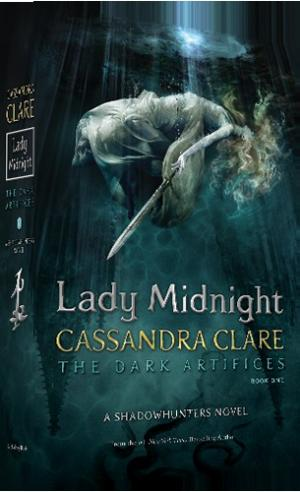 La copertina originale di Lady Midnight, prossimo romanzo di Cassandra Clare