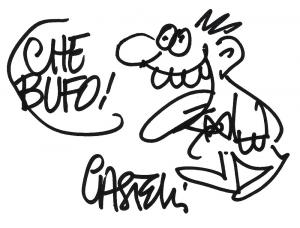 L'omino buffo, personaggio inventato e disegnato da Alfredo Castelli