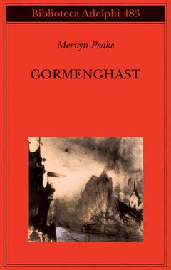 Copertina di Gormenghast – Adeplhi – Victor Hugo, Le Rocher de l'Ermitage, dans un paysage imaginaire (1858). Bibliothèque Nationale, Paris.