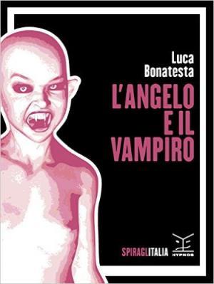 L'angelo e il vampiro - Copertina di Ivo Torello