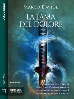 La lama del dolore, copertina di Mario Labieni