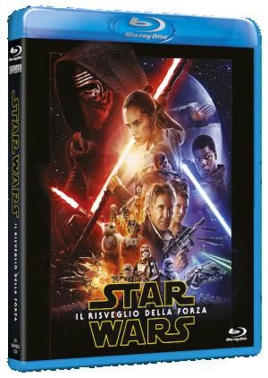 Il Blu-ray di Star Wars: il risveglio della Forza