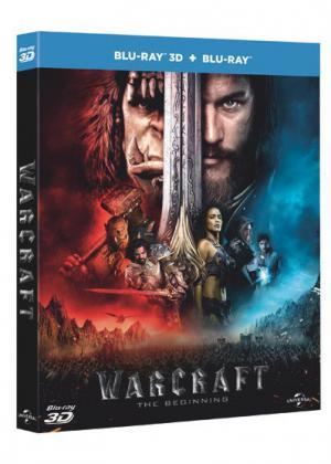 Warcraft Blu-ray 3D