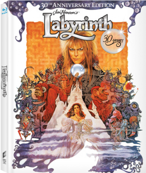 Labyrinth 30° Anniversario Blu-ray