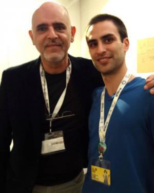 Casty con Simone Bonaccorso