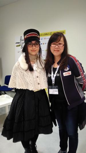 Yun Kouga e Caterina Rocchi