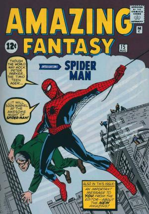 Amazing Fantasy 15 - Copertina di Steve Ditko