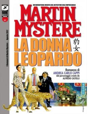 La donna leopardo - Copertina di Aldo di Gennaro