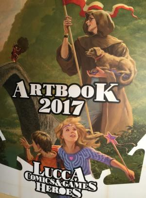 Lucca Comics and Games 2017 Heroes: l'artbook