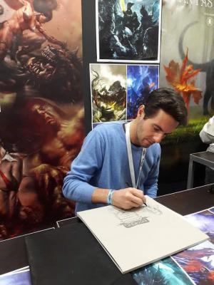 Alberto Dal Lago a Lucca Comics & Games