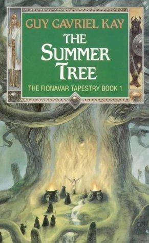 The Summer Tree di Guy Gavriel Kay nell'edizione con copertina di John Howe