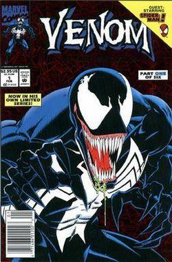 Venom: Lethal Protector - Copertina di Mark Bagley