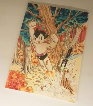 Astroboy di Osamu Tezuka in mostra a Mangasia.