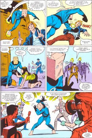 Tavola di The Amazing Spider-Man 258 - Disegni di Ron Frenz