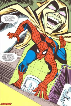 Tavola di Ron Frenz da The Amazing Spider-Man 259