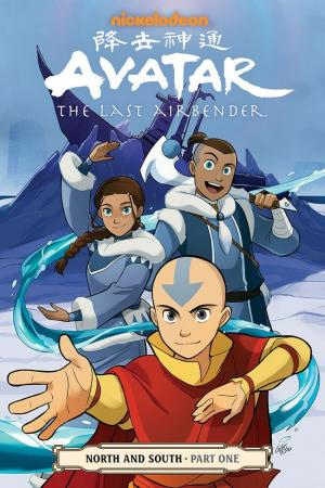 La copertina USA per un fumetto di Avatar – La leggenda di Aang.