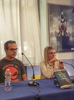 Lorenzo Sartori presenta Alieni a Crema a Stranimondi. Introduce Francesca Caldiani.