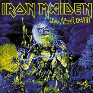 La copertina dell'album Live after death (1985) degli Iron Maiden riporta una citazione di Lovecraft.