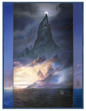 Taniquetil - John Howe_© John howe-Courtesy of HarperCollinsPublishers