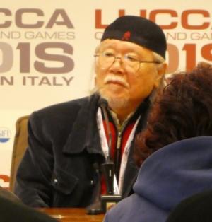 Leiji Matsumoto a Lucca Comics & Games.