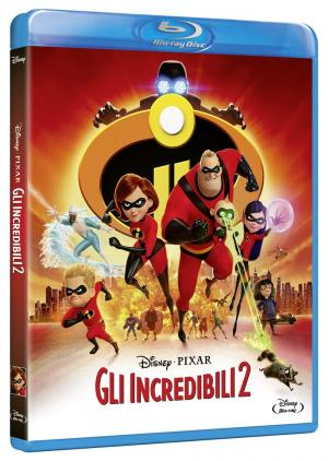 Gli Incredibili 2 in Blu-ray