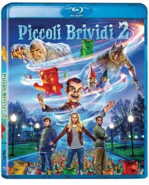 La copertina in Blu-ray di Piccoli Brividi 2 – I Fantasmi di Halloween.