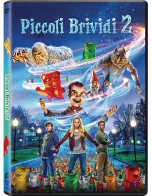 La copertina in Dvd di Piccoli Brividi 2 – I Fantasmi di Halloween.