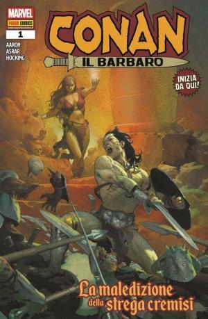 La copertina del primo numero dedicato a Conan il Barbaro.