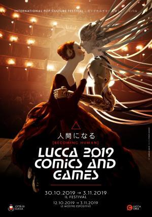 Il poster di Lucca Comics & Games 2019.
