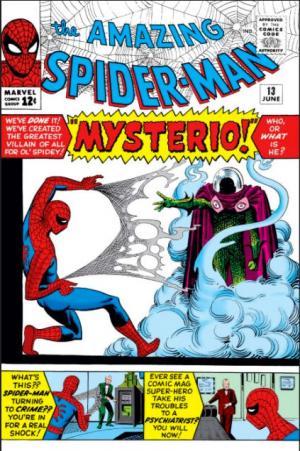 The Amazing Spider-Man di giugno 1964 con la prima apparizione di Mysterio.