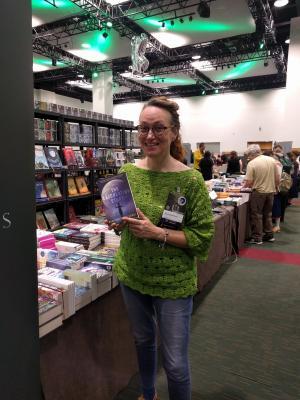 La vincitrice del premio Hugo, Mary Robinette Kowal