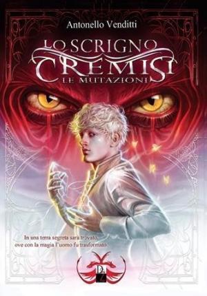 La copertina de Lo scrigno cremisi. Le mutazioni di Antonello Venditti, edito da DZ Edizioni