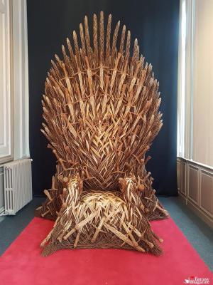Il trono di spade in salice