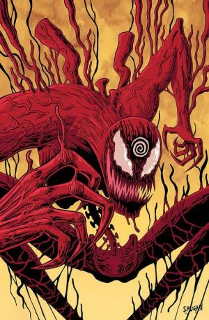 Absolute Carnage, la variant cover di Spugna.