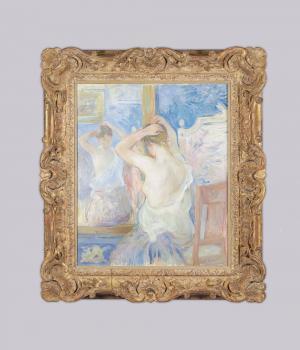 Berthe Morisot - Devant la psyché - 1890
