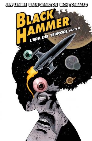 La cover ufficiale italiana di Black Hammer 4, edito da Bao Publishing. Fonte: Bao Publishing