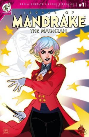 Mandrake the Magician: Mandrake's Legacy. La copertina diAmelia Vidal.