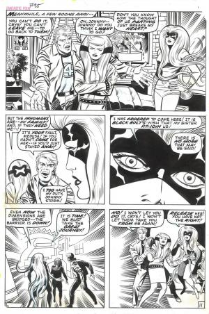 i Fantastici Quattro visti dal loro creatore Jack Kirby