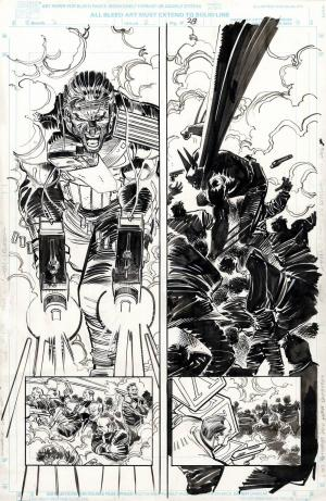 Punisher contro Batman in una storia speciale disegnata da John Romita Jr