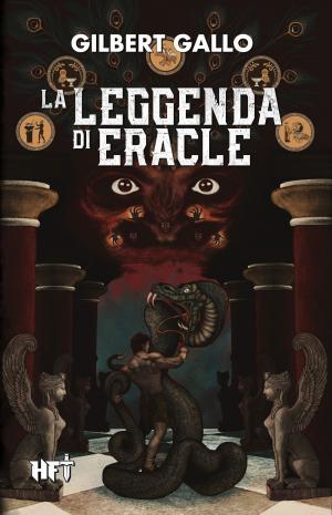 La leggenda di Eracle. Copertina di Silvia Perosino