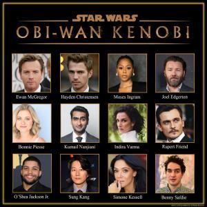 Il cast di Obi Wan Kenobi