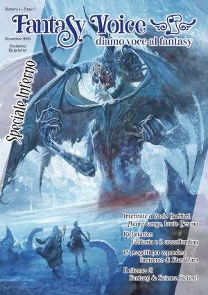 Fantasy Voice - Copertina kickstarter