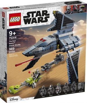 LEGO® Star Wars™ Shuttle di Attacco The Bad Batch™