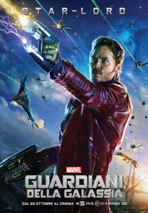 Chris Pratt, Star Lord in Guardiani della Galassia