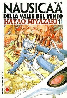 La copertina del primo volume di Nausicaa