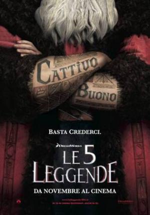 Le 5 Leggende, poster